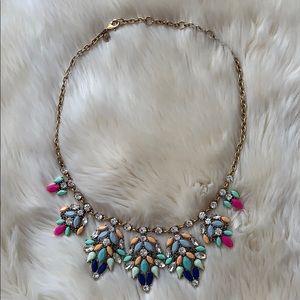 J. Crew jeweled necklace